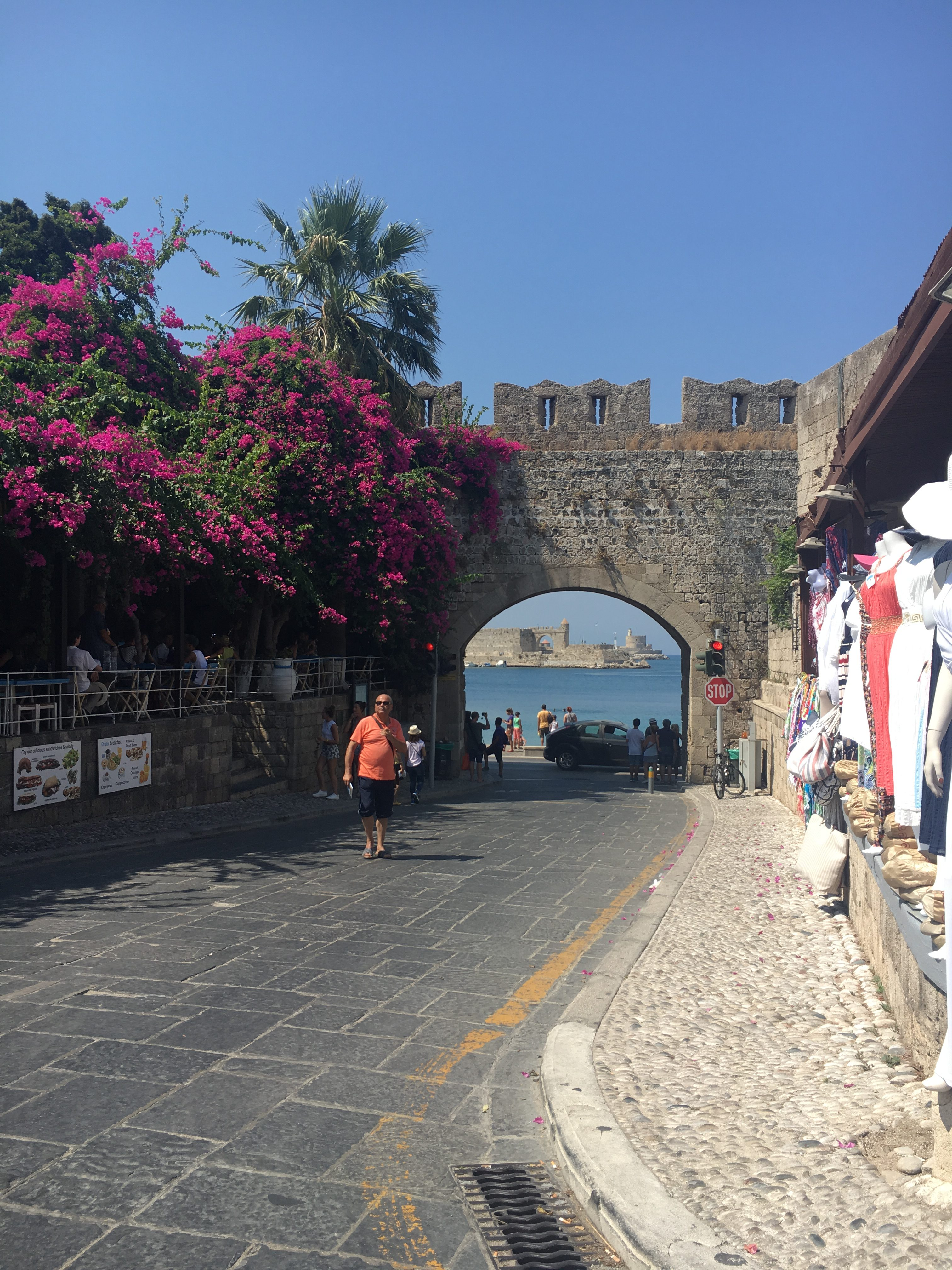Rhodes Old Town - 10 Things To Do In Rhodes - Miss Boux