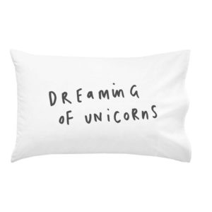 Dreaming of Unicorns Pillowcase - The Old English Company - Miss Boux