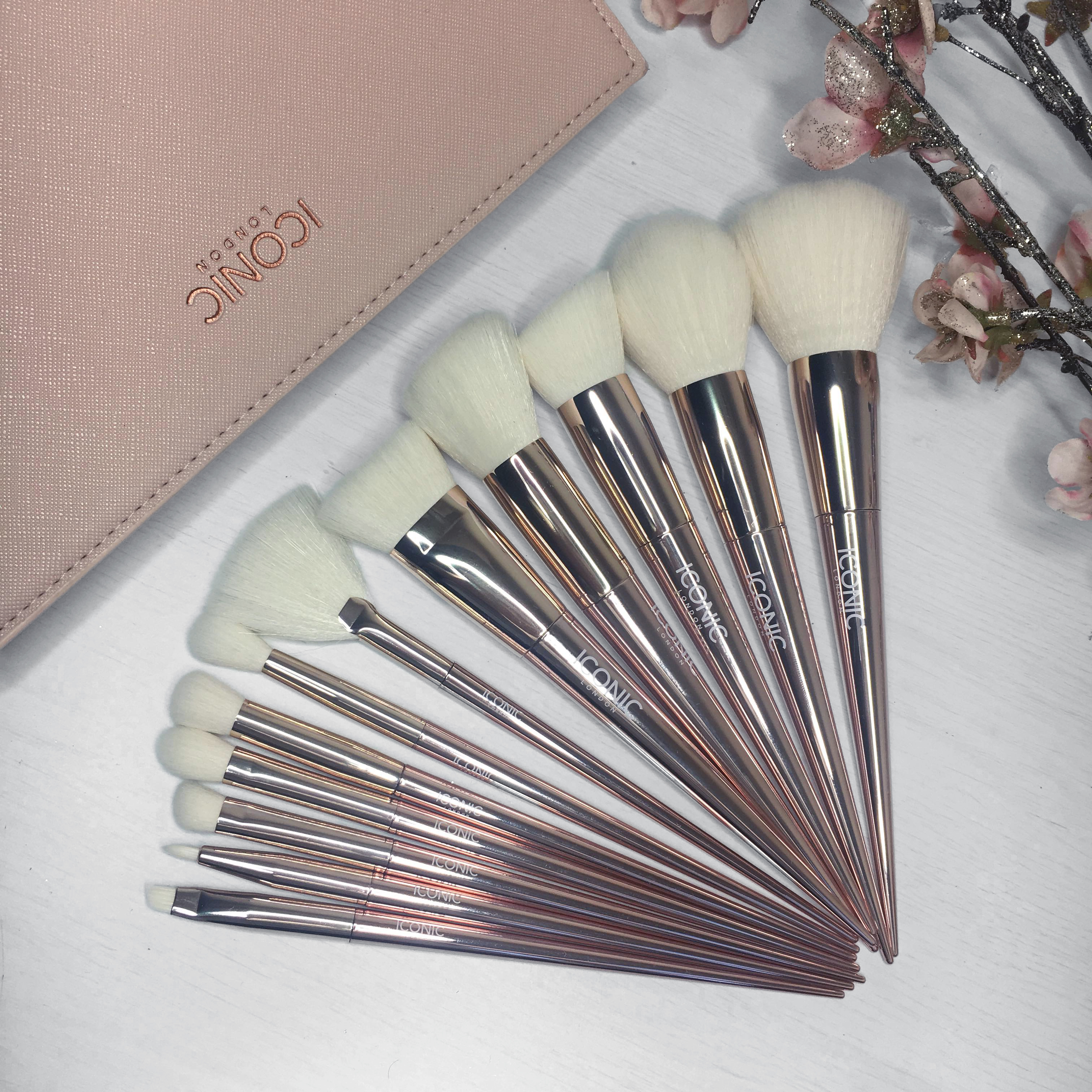 Iconic Brushes - April Blogger Mail Haul - Miss Boux