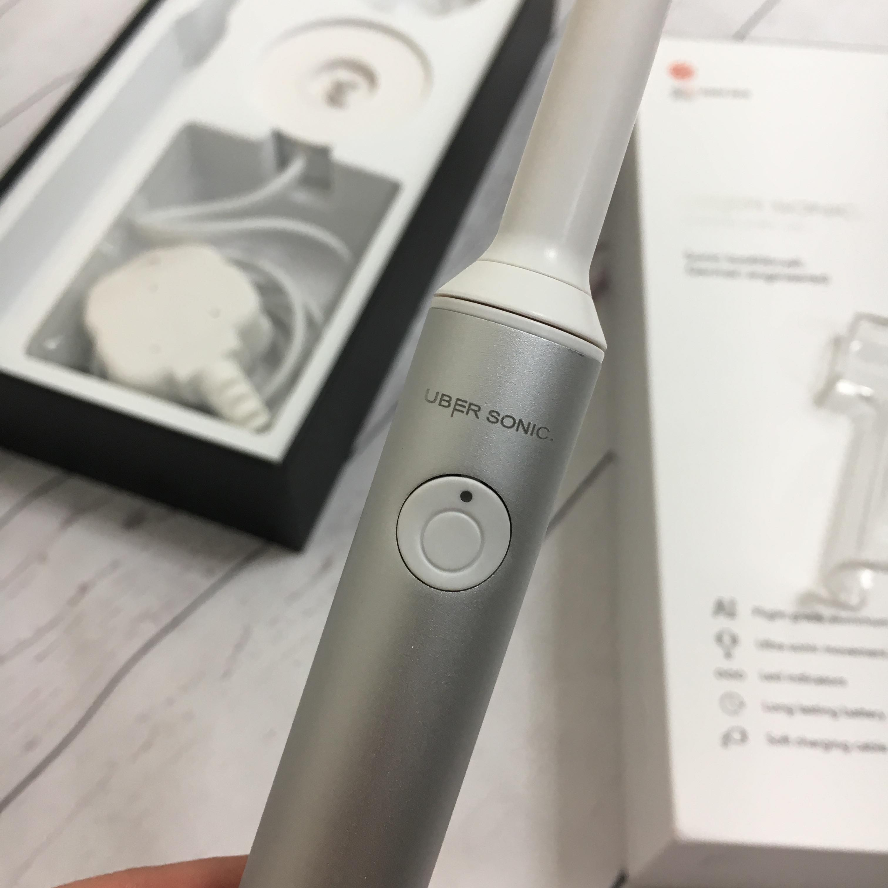 Uber Sonic Electric Toothbrush Review - Miss Boux