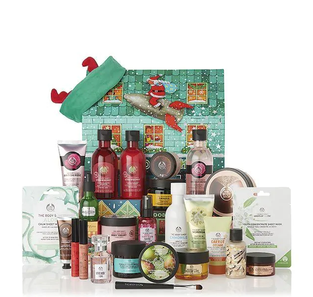 The Body Shop Ultimate Advent Calendar 2019 - Miss Boux