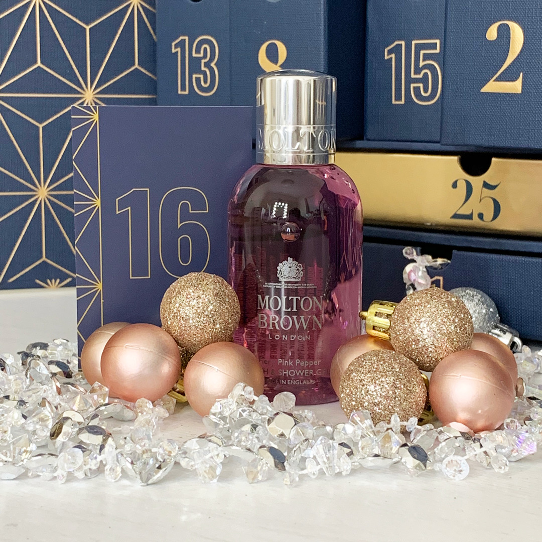 Molton Brown Fiery Pink Pepper Bath & Shower Gel - Look Fantastic Beauty Advent Calendar 2019 - Miss Boux