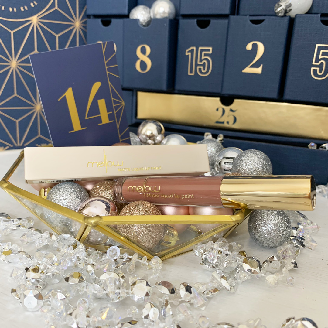 Mellow Cosmetics Liquid Lip Paint Tehran - Look Fantastic Beauty Advent Calendar 2019 - Miss Boux