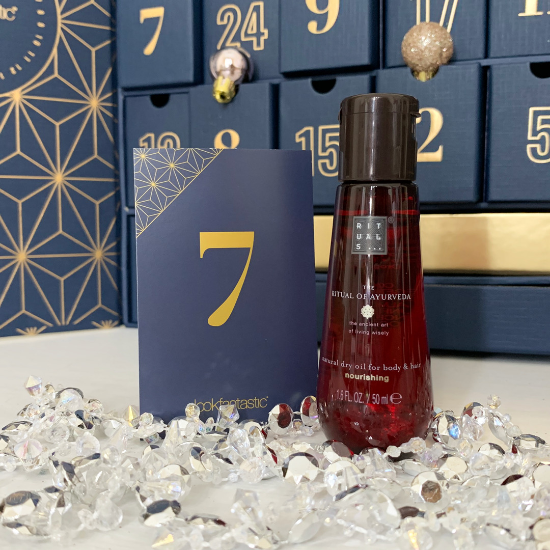 Rituals The Ritual of Ayurveda Dry Oil - Look Fantastic Beauty Advent Calendar 2019 - Miss Boux