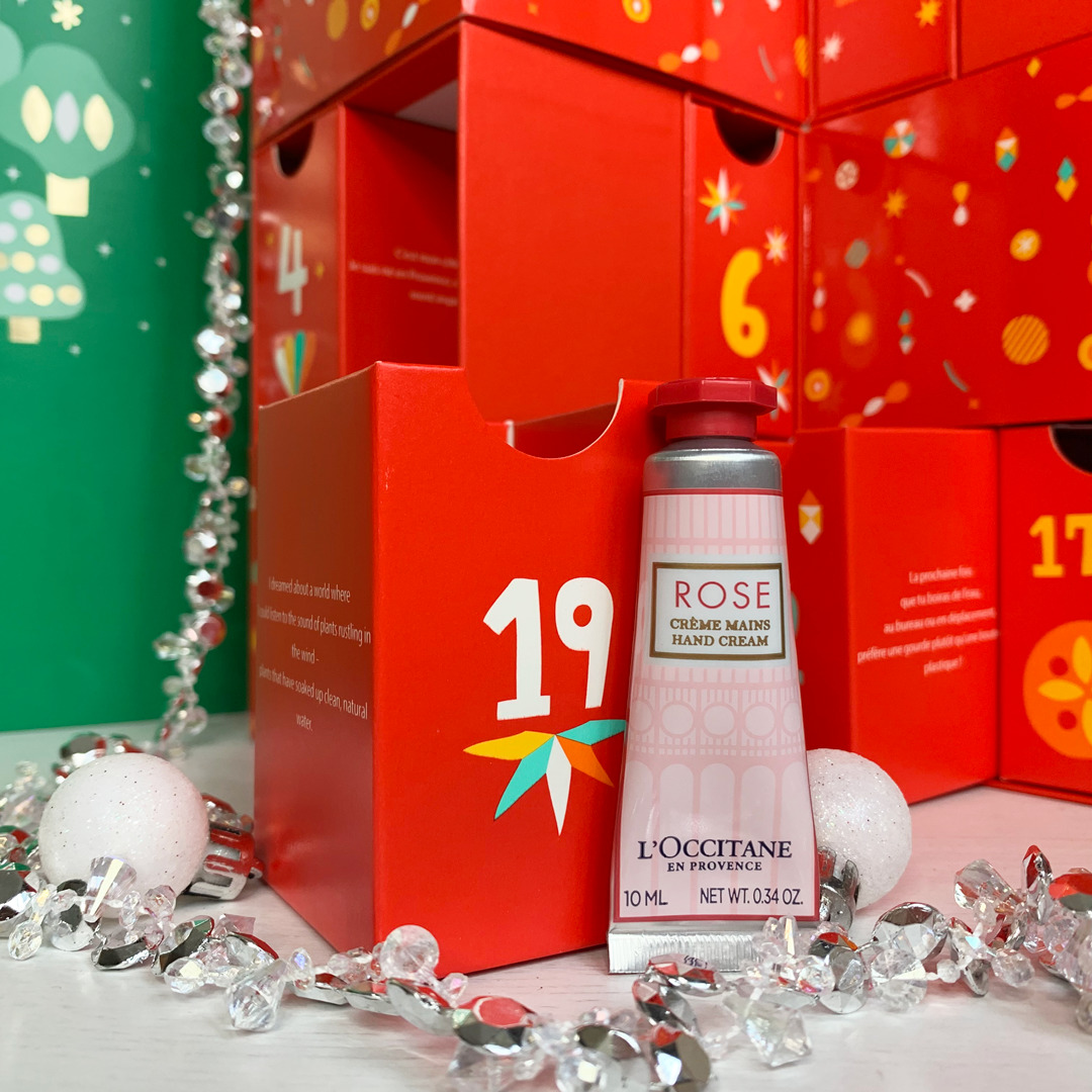 Rose Hand Cream - L'Occitane Beauty Advent Calendar 2019 Review - Miss Boux