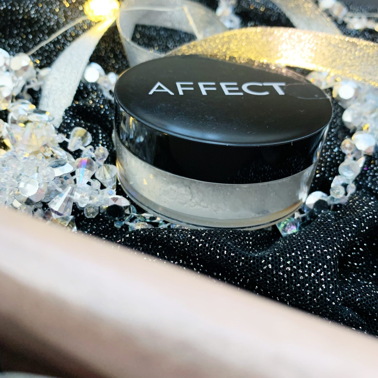 Affect Cosmetics Transparent Loose Rice Powder  - Limited Edition Black Friday Glossybox - Miss Boux