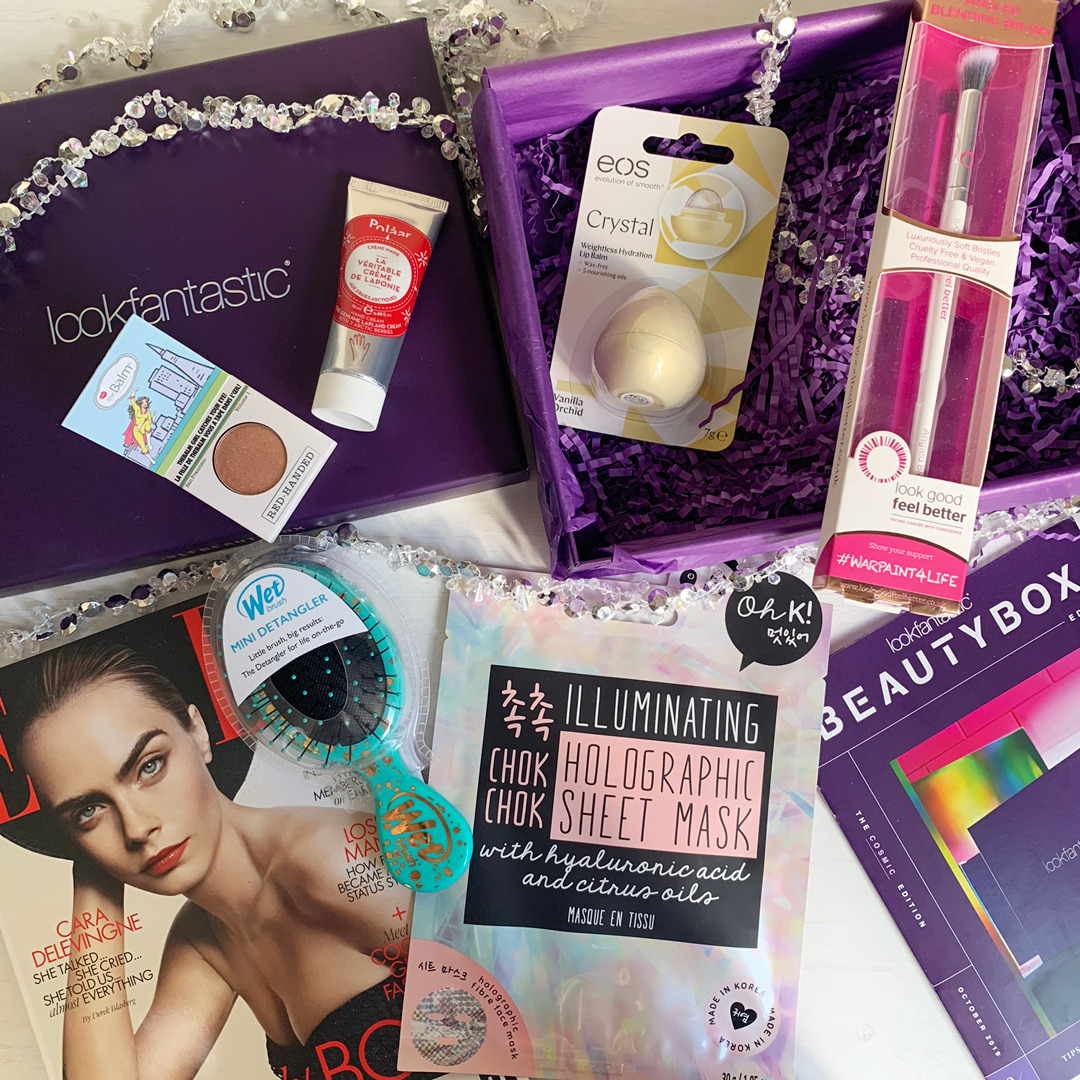 Look Fantastic Beauty Box Review October 2019 - Miss Boux
