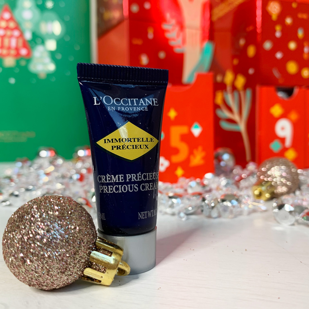 Immortelle Precious Cream - L'Occitane Beauty Advent Calendar 2019 Review - Miss Boux