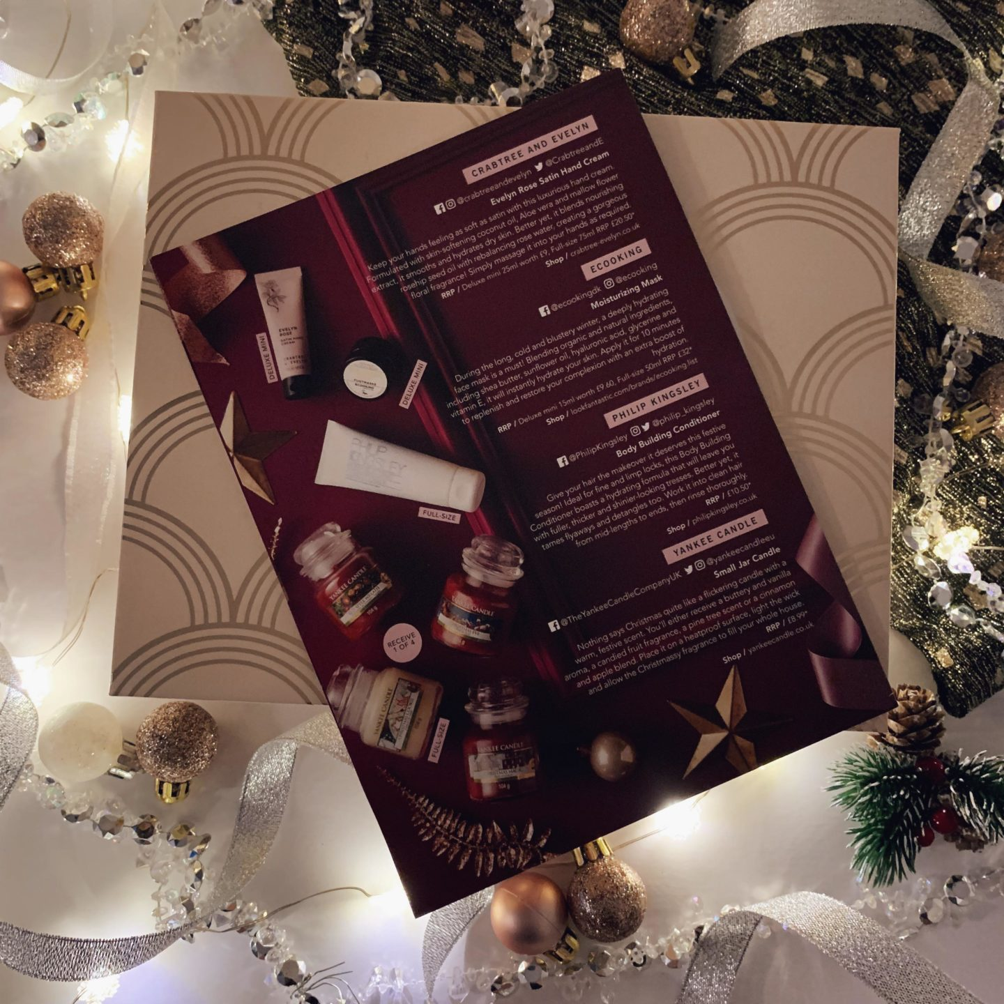 Glossybox Christmas Limited Edition - Miss Boux