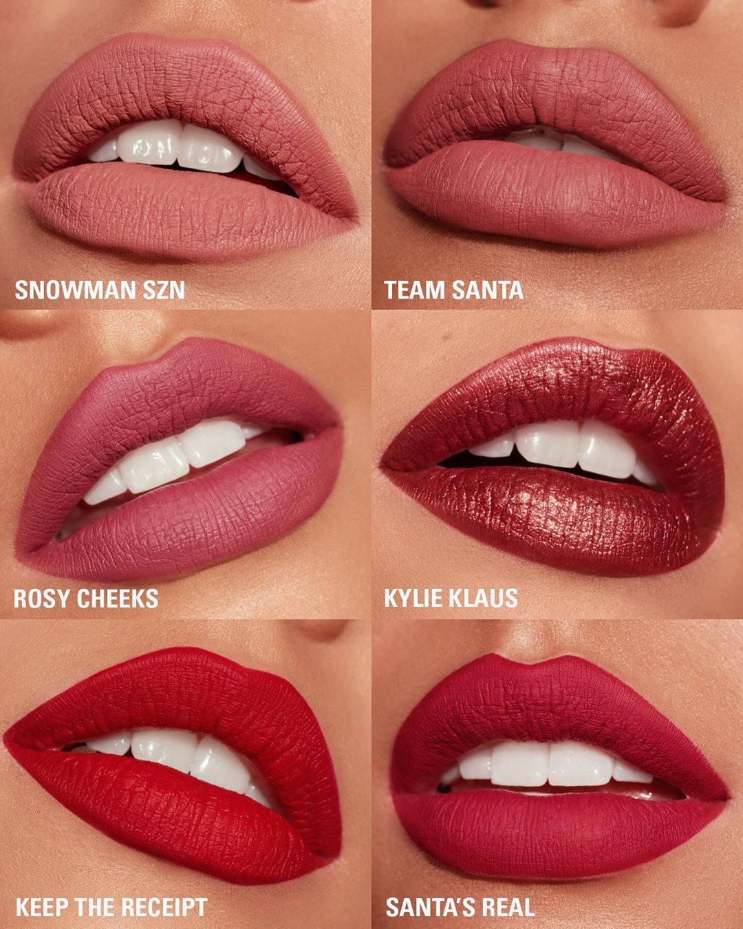 Mini Lip Collection - Kylie Cosmetics Holiday Collection 2019 Revealed - Miss Boux