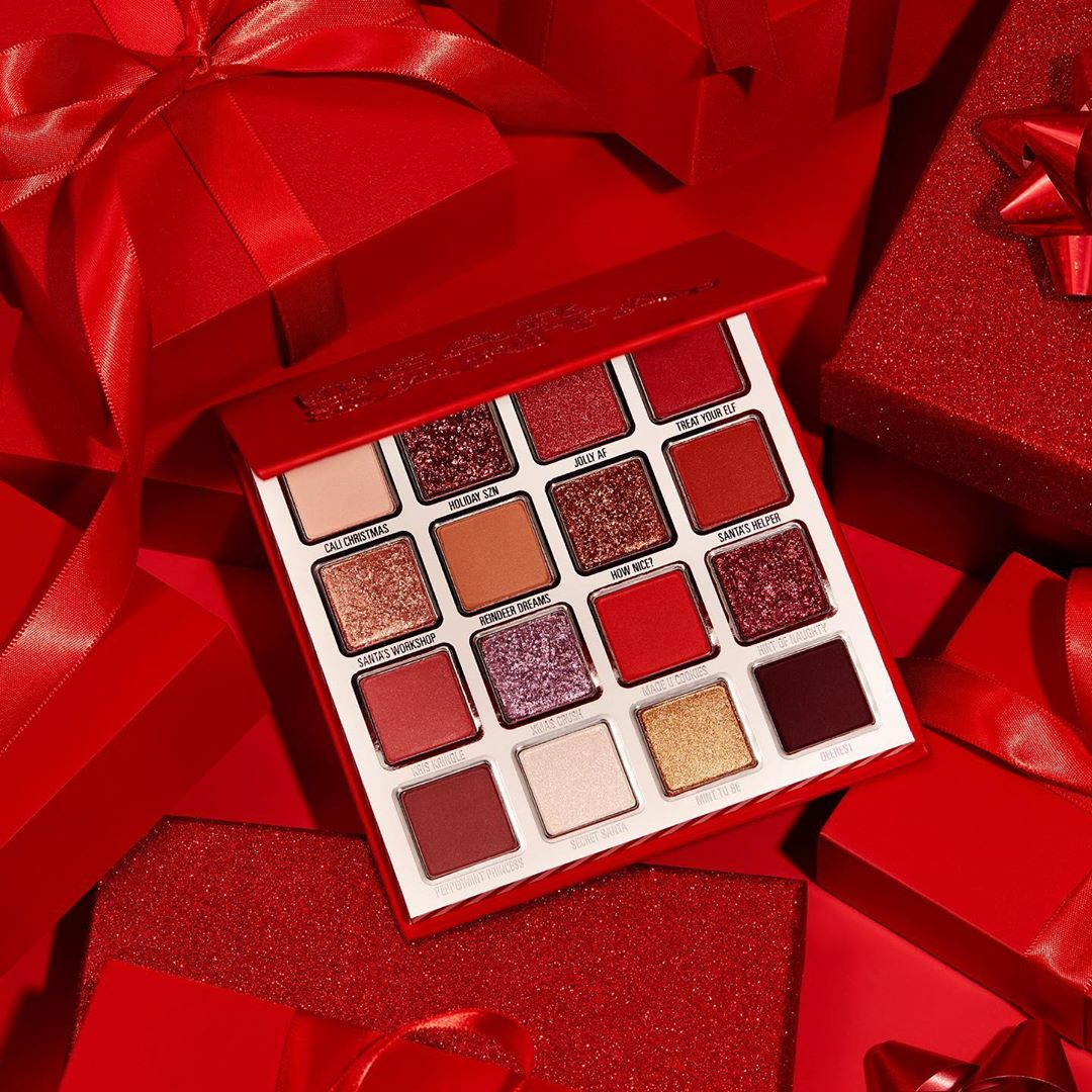 Santa Claus North Pole Eyeshadow Palette - Kylie Cosmetics Holiday Collection 2019 Revealed - Miss Boux