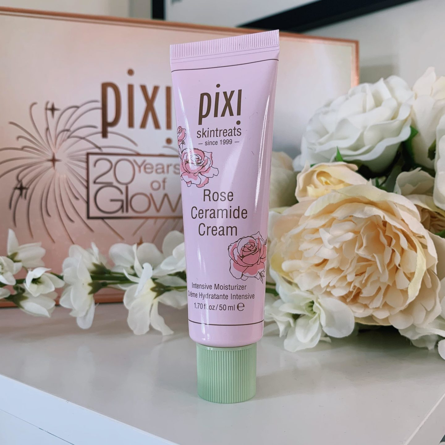 Rose Ceramide Cream - Pixi Beauty 20 Years of Glow - Miss Boux