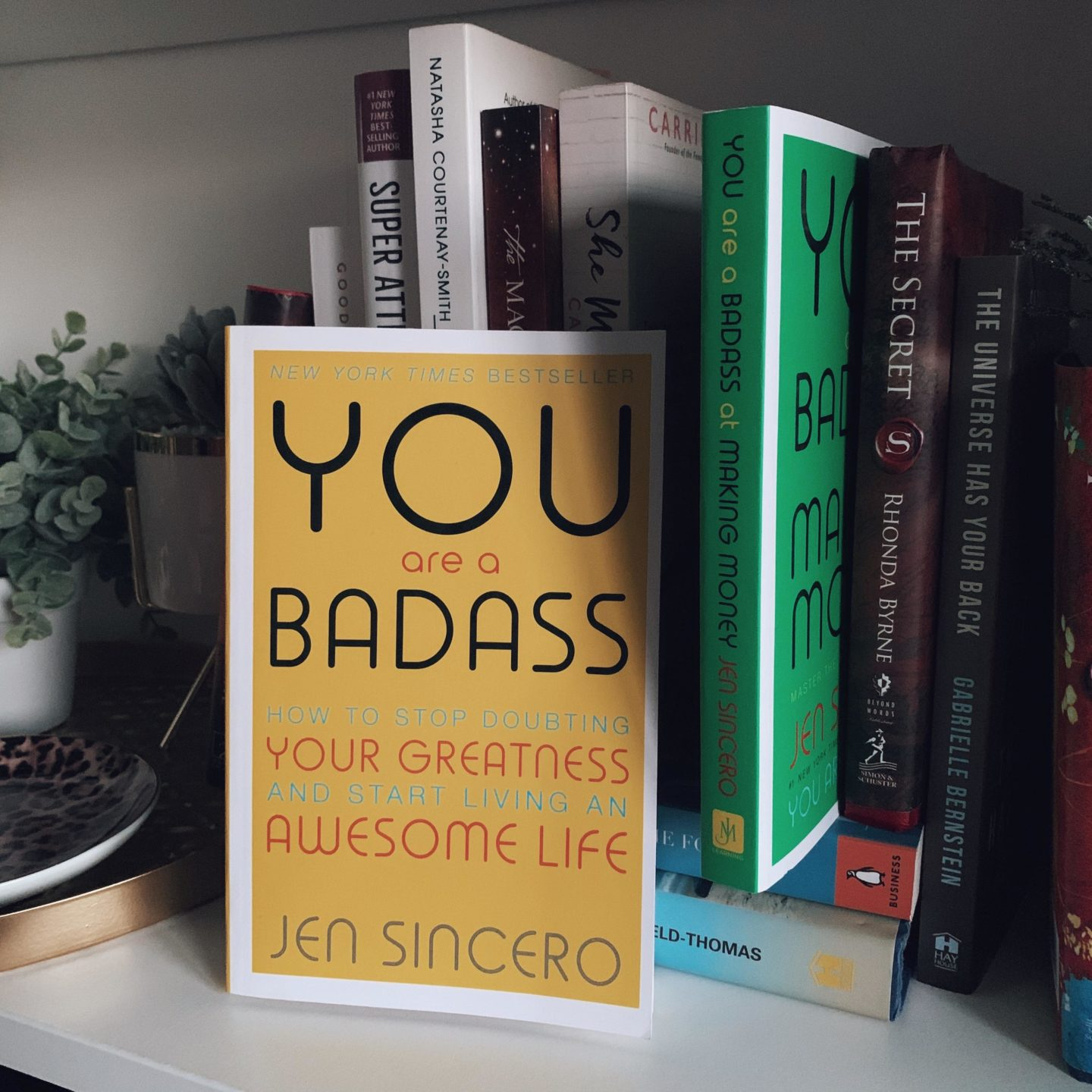 The You Are A Badass - Jen Sincero - 15 Self Help Books You Need To Read In 2020 - Miss Boux