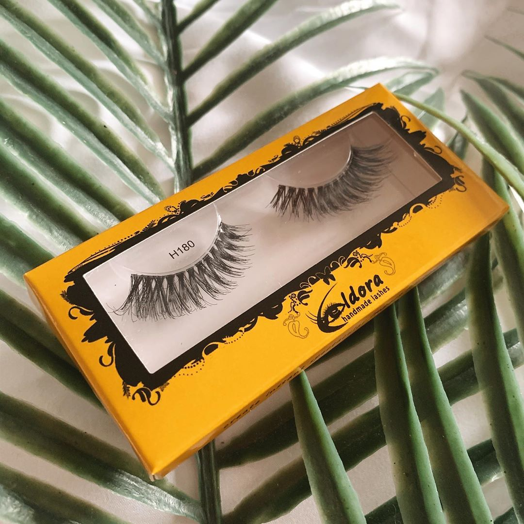 Eldora False Eyelashes - Wild Thing Glossybox Review May 2020