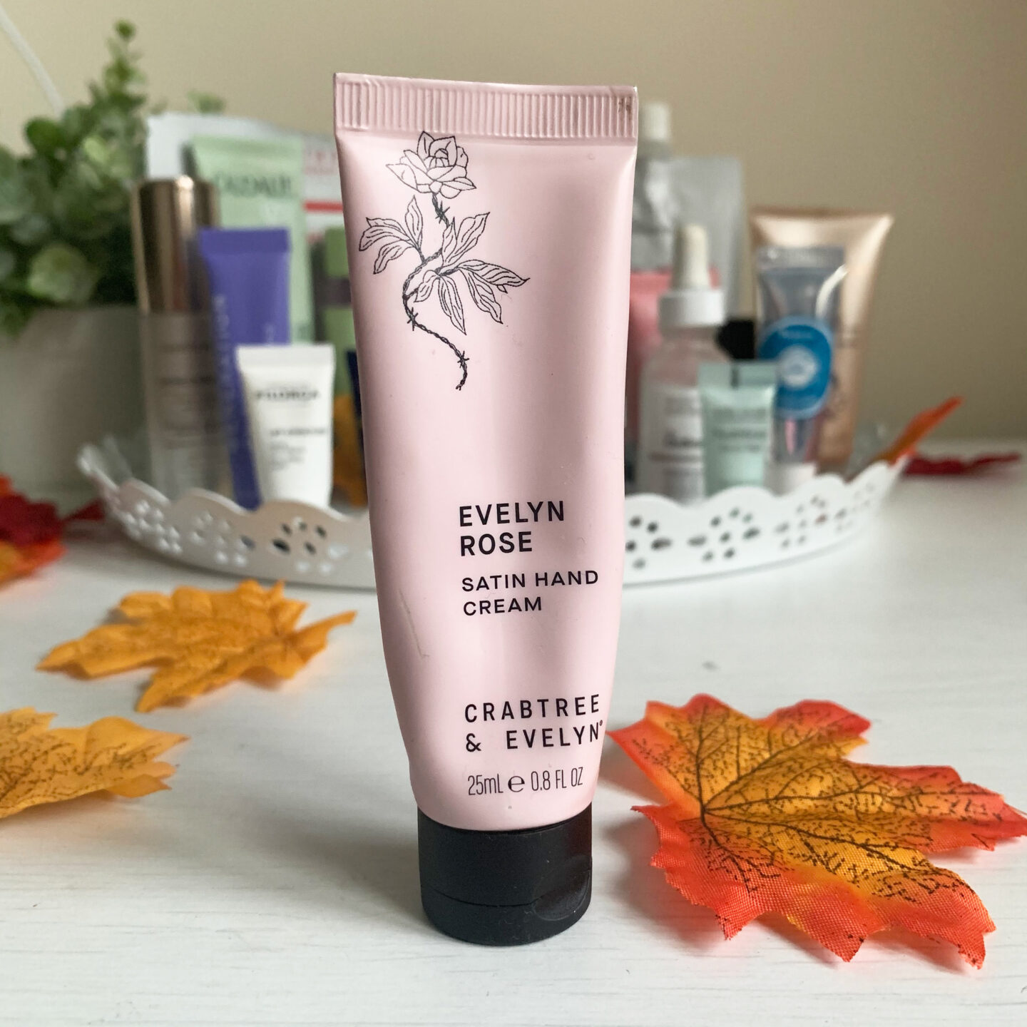 Evelyn Rose Hand Cream  - August September Empties Miss Boux