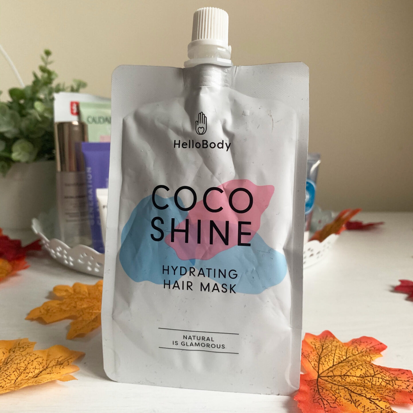 Hello Body Coco Shine Hair Mask  - August September Empties Miss Boux