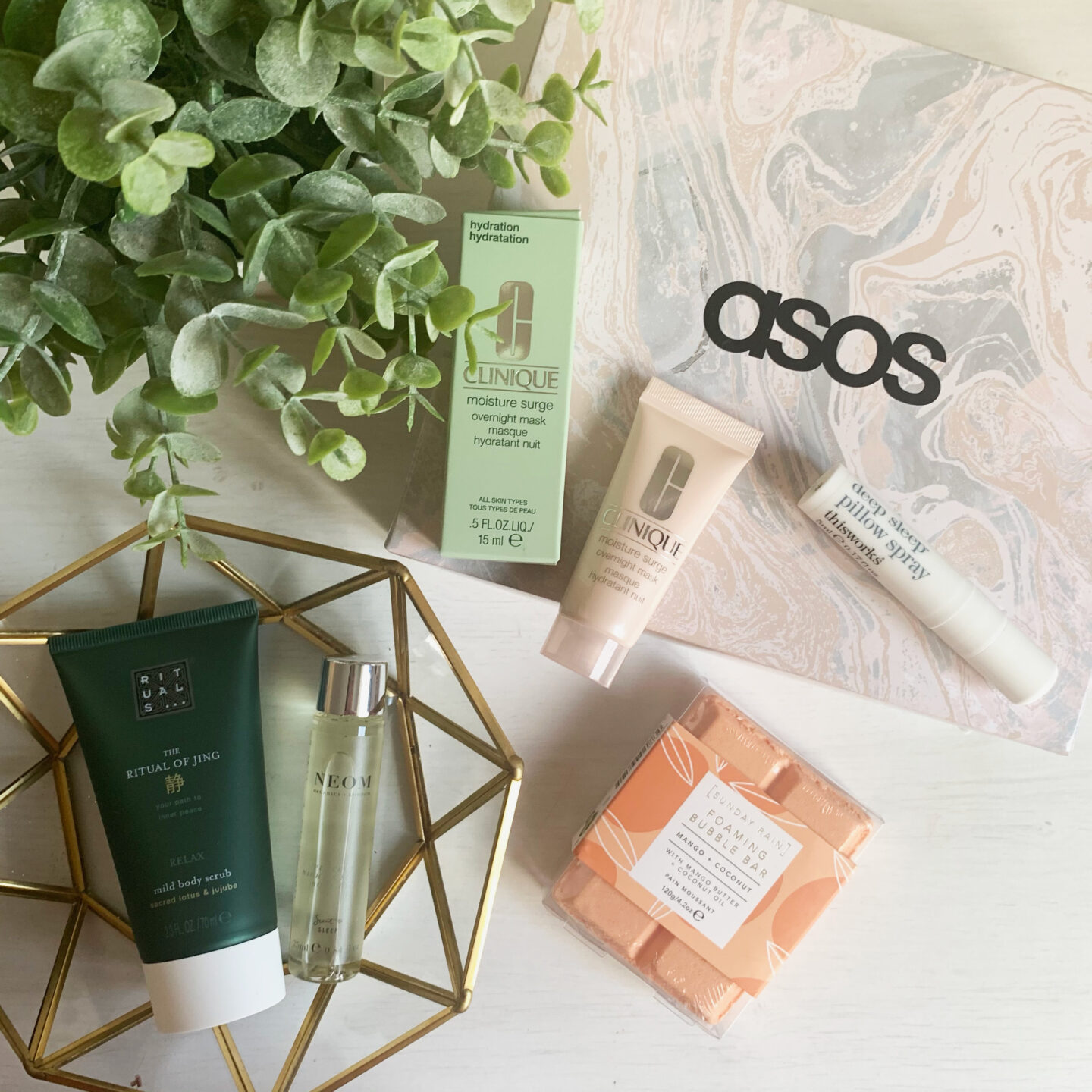 ASOS Beauty Box - November 2020 - Miss Boux