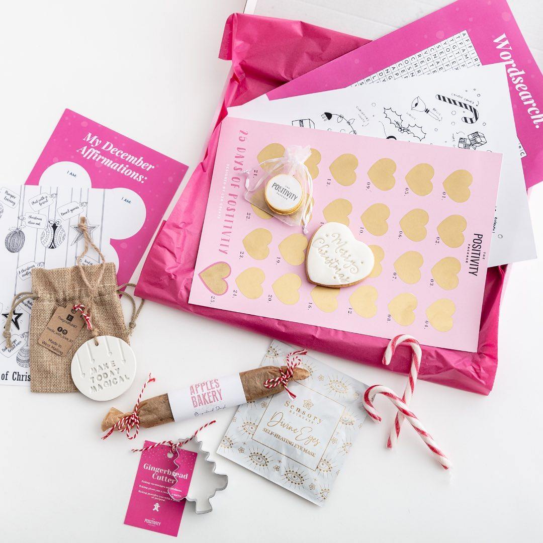 The Positivity Package - Small Business Christmas Gift Guide - Miss Boux